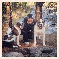 Photo taken at Deschutes River Trail Footbridge by Morgin S. on 5/5/2012