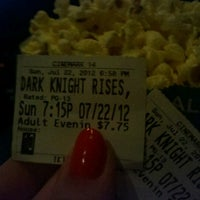 Photo taken at Cinemark Movies 14 by Nicole K. on 7/22/2012