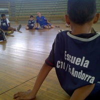 Photo taken at Escuela de Futbol Sala C10/FC Andorra UC - Barbula by Luis Antonio B. on 6/21/2012