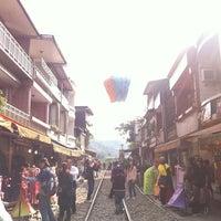 Photo taken at Shifen Old Street by Jade L. on 3/26/2012