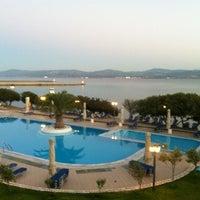 Photo taken at Negroponte Resort Eretria by Afroditi K. on 8/28/2012