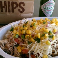 Photo taken at Chipotle Mexican Grill by Heather C. on 3/18/2012