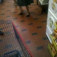 Photo taken at Supermercado Paulista by Djan R. on 3/7/2012
