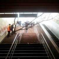 Photo taken at 4. Levent Metro İstasyonu by Ahmet T. on 4/18/2012