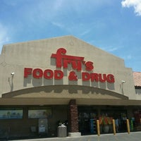 Photo taken at Fry's Food Store by D J B. on 7/12/2012