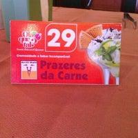Photo taken at Prazeres da Carne by Thiago G. on 4/14/2012