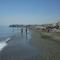 Photo taken at Rincón de la Victoria Beach by Gustavo M. on 7/20/2012