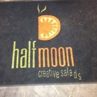 Photo taken at Halfmoon Creative Salads by Randy R. on 2/22/2012