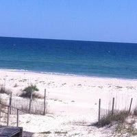 Photo taken at Saint George Island, FL by Leslie G. on 4/12/2012