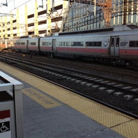 Photo taken at Metro North - South Norwalk Train Station by William S. on 3/30/2012