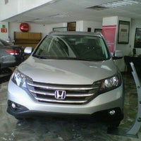 Photo taken at Honda by cesar augusto n. on 5/18/2012