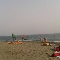 Photo taken at Playa El Candado by Juanan V. on 8/2/2012