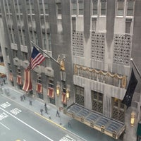 Photo taken at W New York by Jen E. on 4/26/2012