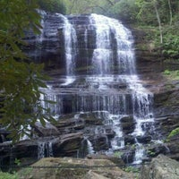 Photo taken at Pearson's Falls by annette m. on 4/5/2012