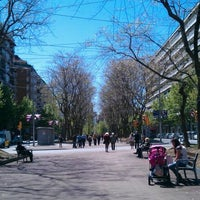 Photo taken at Avinguda de Josep Tarradellas by Alicia C. on 5/1/2012