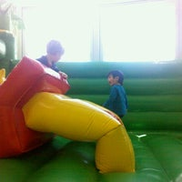 Photo taken at Bounce And Play by Dahlia M. on 9/3/2012