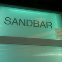 Photo taken at The Sandbar at the Cove by Steven B. on 3/28/2012