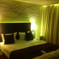 Photo taken at art'otel Budapest by Roy A. on 5/26/2012