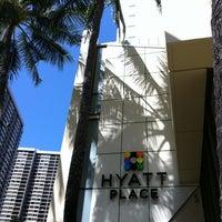 Photo taken at Hyatt Place Waikiki Beach by @MiwaOgletree on 5/3/2012