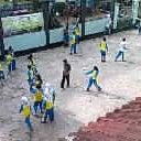 Photo taken at SMA Pasundan 2 Bandung by Girli M. on 5/14/2012