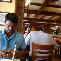 Photo taken at la Madeleine Country French Café by Vijay T. on 7/2/2012