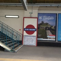 Photo taken at Ealing Broadway Railway Station (EAL) by Alistair on 6/20/2012