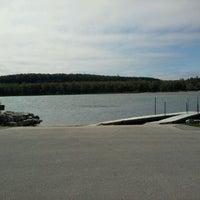 Photo taken at Peninsula State Park - Boat Landing by Jeff L. on 5/4/2012