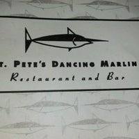 Photo taken at St. Pete's Dancing Marlin by Edward S. on 7/8/2012