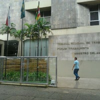 Photo taken at Tribunal Regional do Trabalho da 8ª Região by Ludmyla A. on 4/9/2012