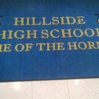 Photo taken at Hillside High School by Blackberri on 5/20/2012
