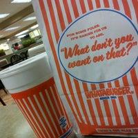 Photo taken at Whataburger by Esmer R. on 2/21/2012