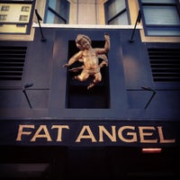 Photo taken at Fat Angel Food & Libation by wenny l. on 5/26/2012