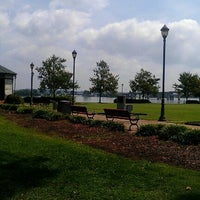 Photo taken at Rhodes Ferry Park by Daniel R. on 8/15/2012
