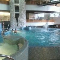 Photo taken at MenDan Thermal Hotel & Aqualand by Balázs N. on 7/4/2012