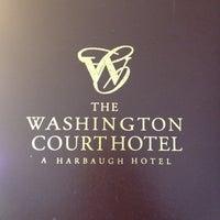 Photo taken at Washington Court Hotel by Ashley D. on 4/6/2012