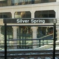 Photo taken at Silver Spring Metro Station by Lu D. on 2/7/2012