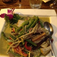 Photo taken at Wild Ginger Pan-Asian Vegan Cafe by Sean M. on 8/28/2012