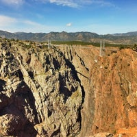 Photo taken at Royal Gorge Bridge & Park by Brian S. on 4/13/2012