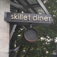 Photo taken at Skillet Diner by Ari S. on 7/29/2012