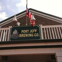 Photo taken at Port Jeff Brewing Company by Robyn M. on 6/11/2012