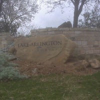 Photo taken at Lake Arlington Golf Course by joie f. on 2/28/2012
