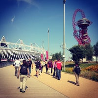 Photo taken at London 2012 Olympic Park by Stanislav B. on 9/3/2012