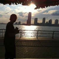 Photo taken at Hudson River Promenade by Kristin B. on 7/8/2012