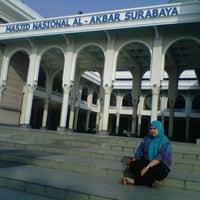 Photo taken at Masjid Nasional Al-Akbar by Erlyn D. on 9/9/2012