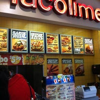 Photo taken at TacoTime by Roz D. on 3/1/2012