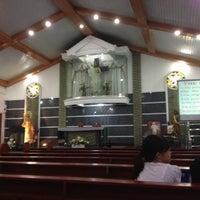 Photo taken at Parish of holy rosary by Maryjane on 6/16/2012