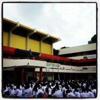 Photo taken at St. Anthony's Canossian Secondary School (Holding School) by Lee S. on 8/30/2012