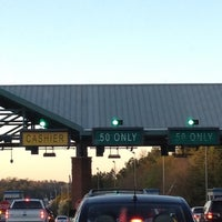 Photo taken at GA 400 Toll Plaza Employee Parking Lot by Lowry G. on 3/10/2012