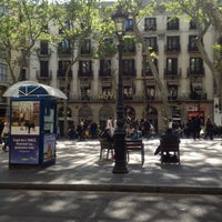 Photo taken at La Rambla by Adolf on 4/21/2012