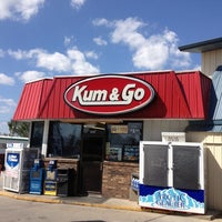 Photo taken at Kum & Go by Kevin M. on 9/4/2012